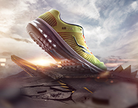 LESCON Sports Shoes Poster