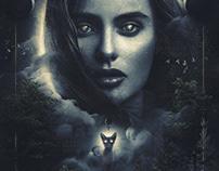 Lilith a dark surrealism photomanipulation art