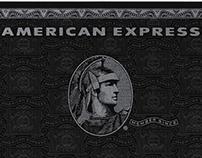 American Express Black Card / Amex Centurion card