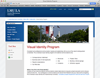 LMU Visual Identity Site