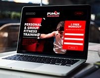 PUNCH BOXING FOR FITNESS | WEB DESIGN & DEVELOPMENT