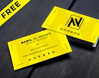 Free Business Card Mockup Vol-01