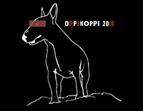 Oppikoppi Hoodie Design & Illustration