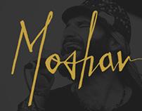 Moshav Band Lettering