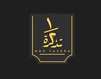 Nos Tazkra LOGO Design