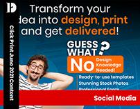 Click Print Social media | June 2021 Content