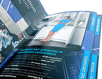 Brochure // B2B tabbed accordion trifold
