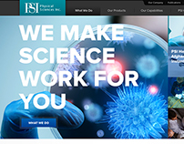 Physical Sciences Inc. Website