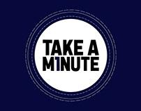 TAKE A M1NUTE // Activación