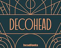 Decohead - Art Deco Font