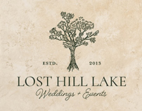 Lost Hill Lake re-branding project.