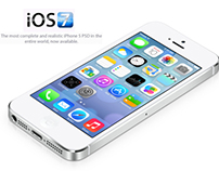 Apple iOS 7 Mockup And Download Link