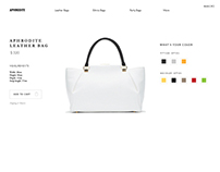 Minimal eCommerce UI Design