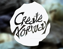 Branding, Editorial Design, Brandmanual, Create Norway