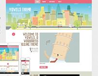 Vowels | Responsive WordPress Creative Theme