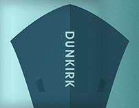 DUNKIRK (minimalist movie poster.)