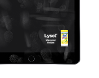 Lysol – Wipe your swipes (Winner: Creativity Awards 15)