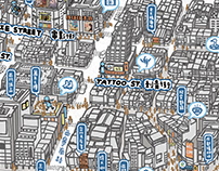 Just go Ximen:The illustrated map of Ximending, Taipei