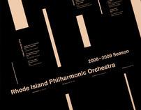 rhode island philharmonic - schedule poster