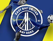 East Bay United Bay Oaks Logo Redesign