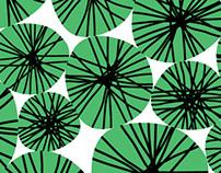 lotus, pattern
