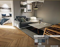 Candinavian Interior Animation/ VR