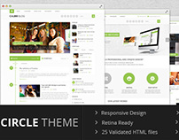 WP - Circle theme Multi Purpose Template