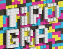 Tetris Typography