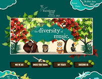 Rainforest World Music Festival - Microsite