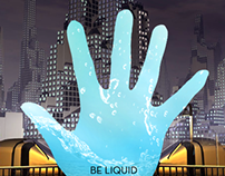 Impakt - Be Liquid. Cover art