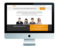 Corporate web site