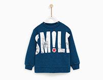 Zara Baby Boy AW17 - Smile Print