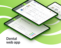 Dental Inventory Control Platform. Dashboard