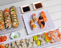 Fotografía mas diseño Sushi