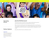 The Power of Positivity Movement New Web Site Design