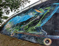 "Mural ""Cordoba x"" Parque Sarmiento"