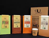 cU coffee - Branding