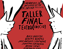 Cartel Taller Final Teatro