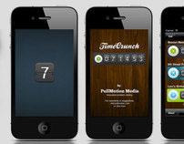 TimeCrunch | Iphone UI