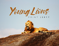 Young Lions Costa RIca | Print 2017