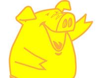 Comida Gourmet, ( piggy)