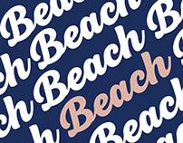 BeachBar Font Family