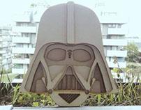 Darth Vader Lasercut – Wood