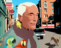 Illustrations for Ray Bradbury story
