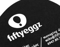 Fifty Eggz / Brand Id.