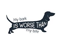 Design - My bark is worse than my bite