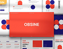 Obsine Brand Guideline Multipurpose Template
