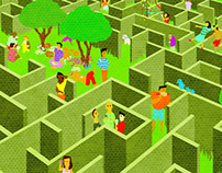 The A-Maze-ing Garden party