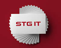 Логотип компании STG IT