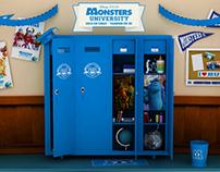 Window Display Cheeky Monsters University